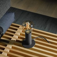 Edgar Home tafellamp zwart