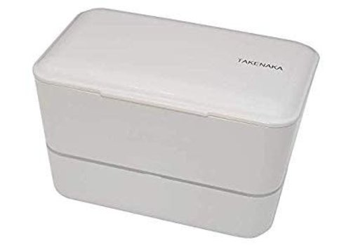Takenaka Takenaka Bento lunchbox dubbel glacier grijs
