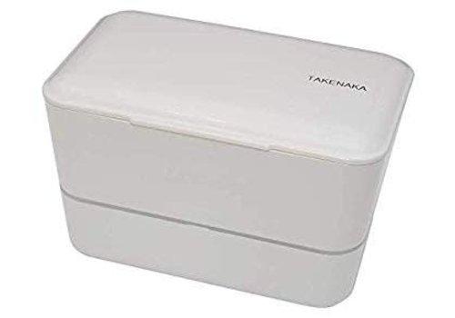 Takenaka Takenaka Bento lunchbox dubbel glacier wit