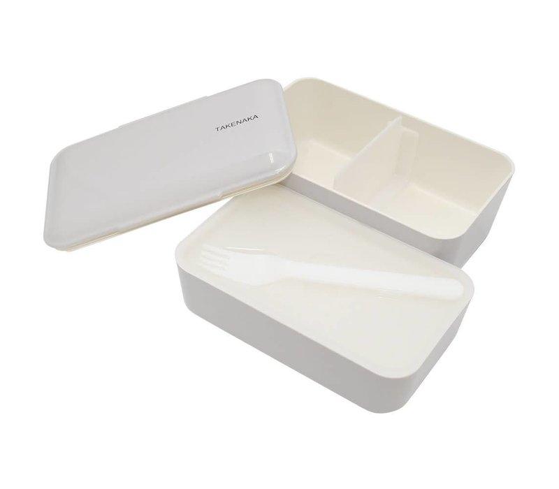 Takenaka Bento lunchbox dubbel glacier grijs