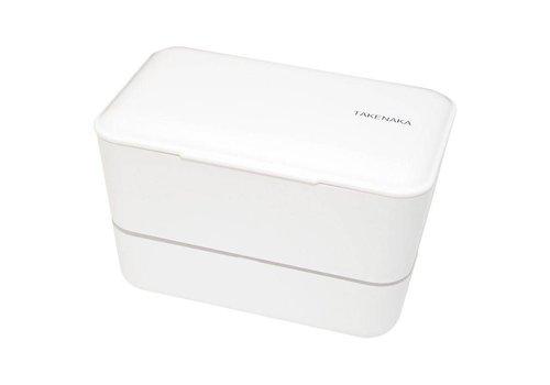 Takenaka Bento Takenaka Bento lunchbox dubbel wit