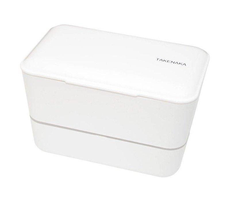 Takenaka Bento lunchbox dubbel wit