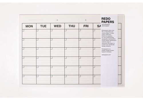 Re-do papers Re-do papers weekplanner