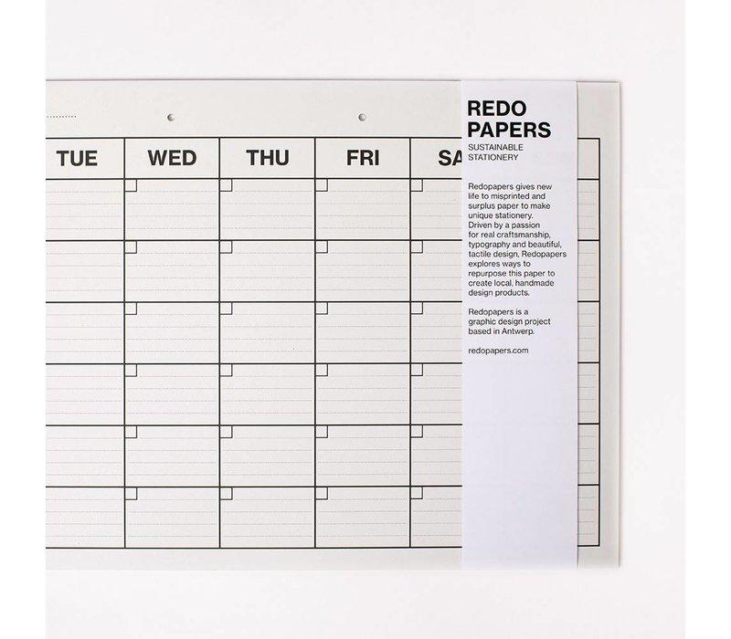 Re-do maandplanner