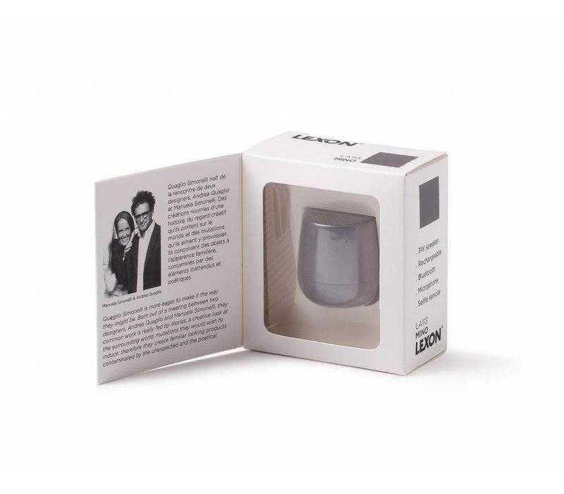 Lexon Mino Mini Bluetooth Speaker Grey