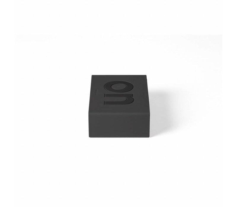 Lexon Flip Digitale Wekker donkergrijs