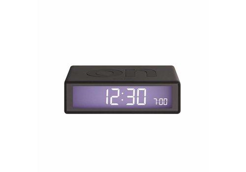 Lexon Lexon Clock 2 Flip Wekker donkergrijs