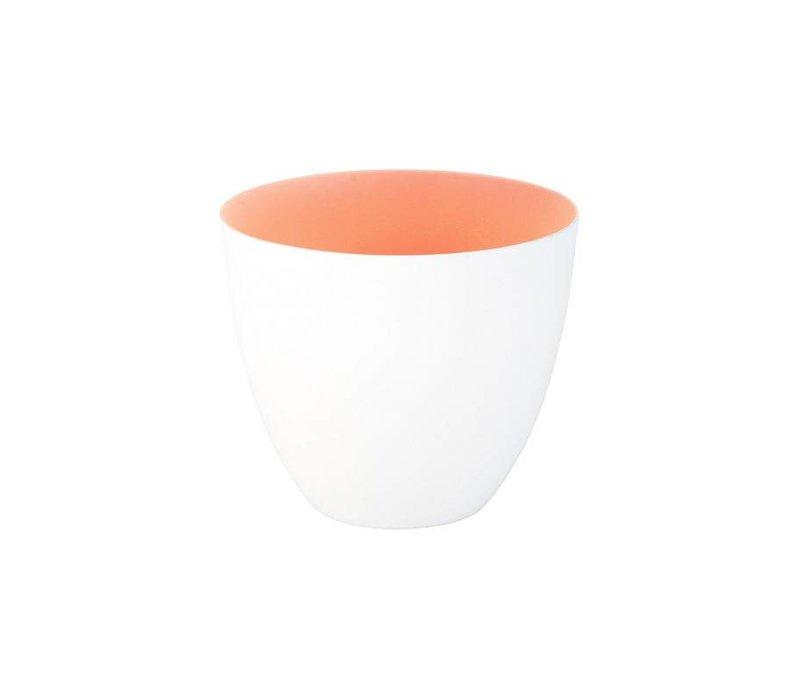 Klevering theelichthouder pastel peach