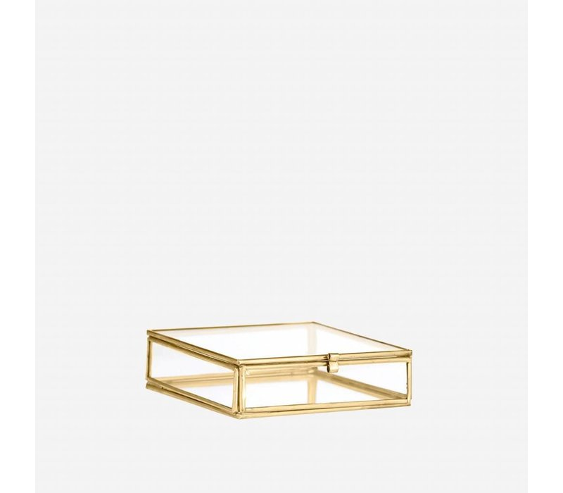 Madame Stolz mini box in glas