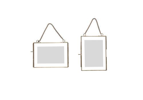 Hübsch Hübsch - glas - frame - foto - antique s/2