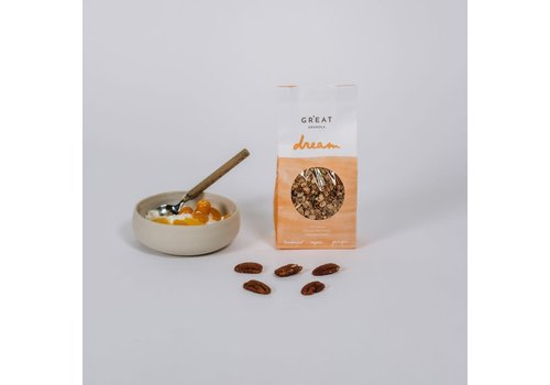 GR'EAT granola Great granola Dream Bio