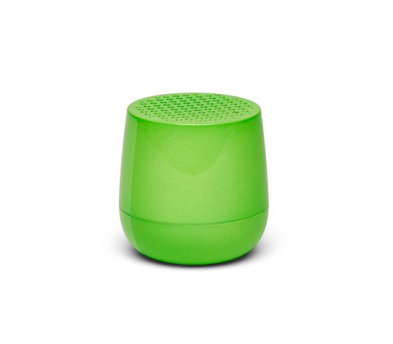 Lexon Mino Mini Bluetooth Speaker fluo groen glossy