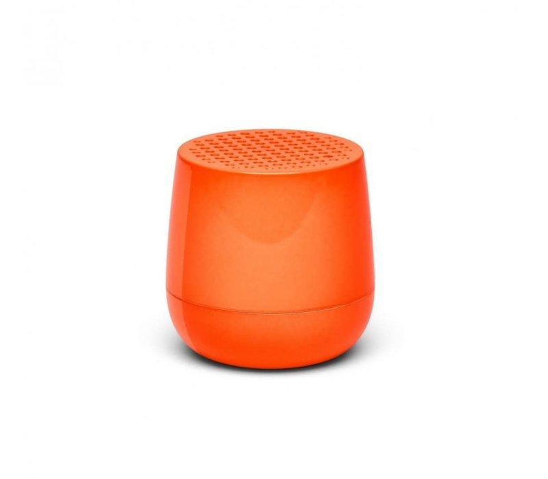 Lexon Mino Mini Bluetooth Speaker fluo oranje