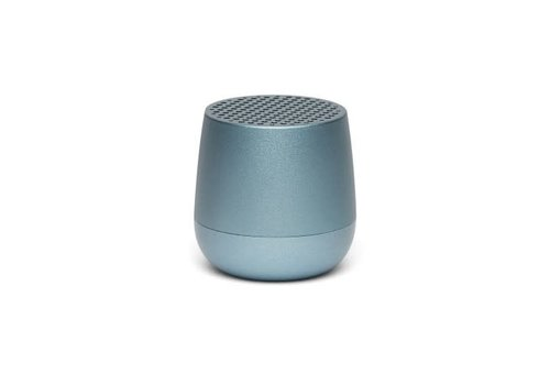 Lexon Lexon Mino Mini Bluetooth Speaker metal light blauw