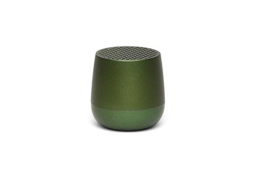 Lexon Lexon Mino Mini Bluetooth Speaker metal dark groen