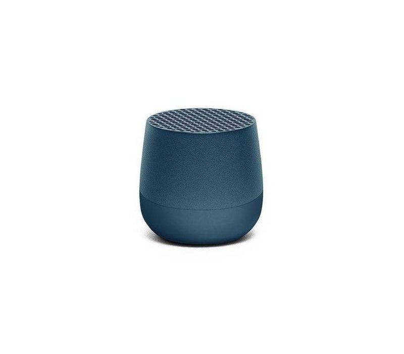Lexon Mino Mini Bluetooth Speaker metal blauw