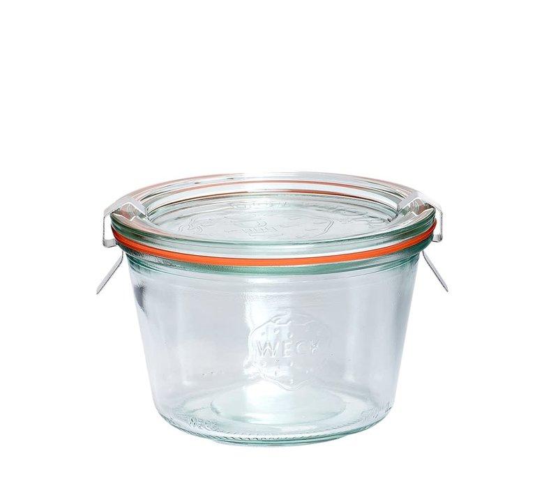 Hubsch weck pot glas 370ml
