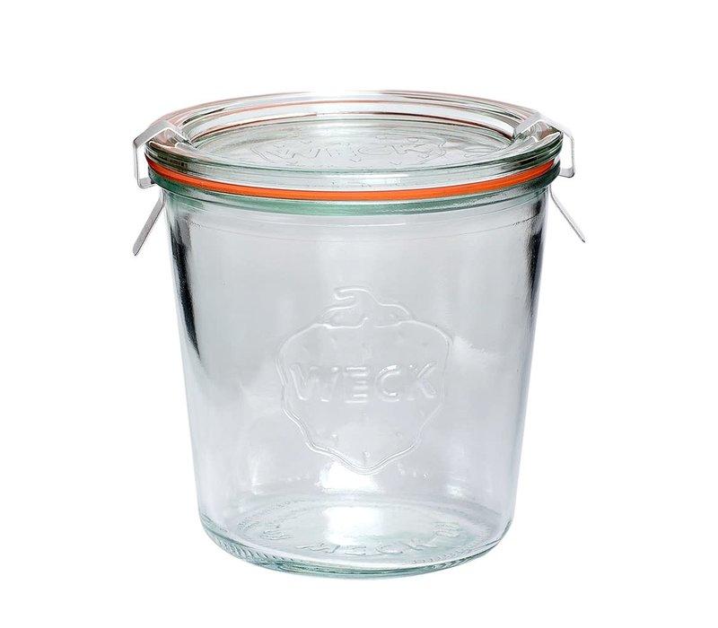 Hübsch weck pot glas 580ml