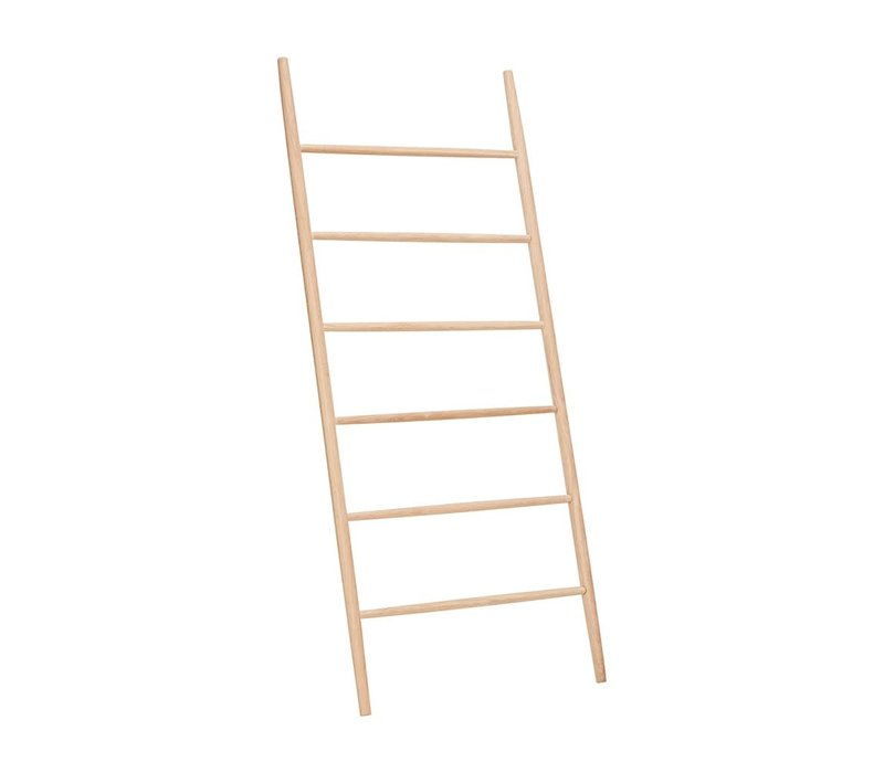 Hubsch eiken ladder nature