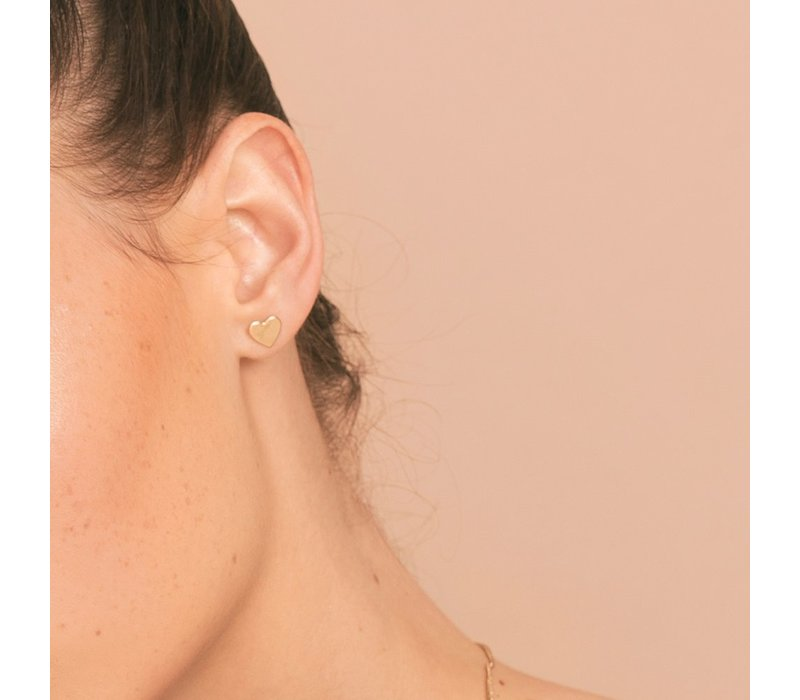 Christelle Christensen Bo earring coeur M