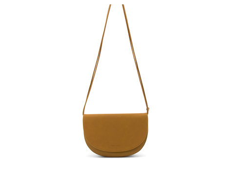 Monk & Anna Monk & Anna Soma half moon bag Honey