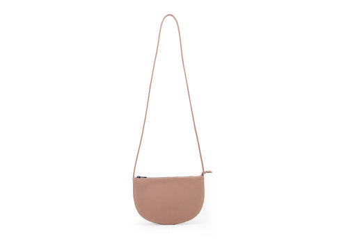 Monk & Anna Copy of Monk & Anna Farou Half moon bag Chestnut