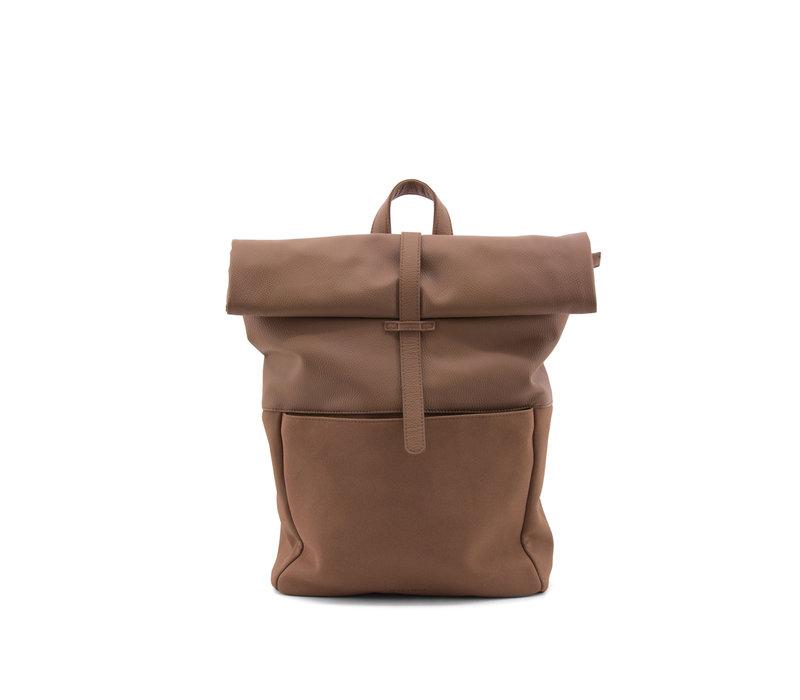 Monk & Anna rugzak/backpack Chestnut