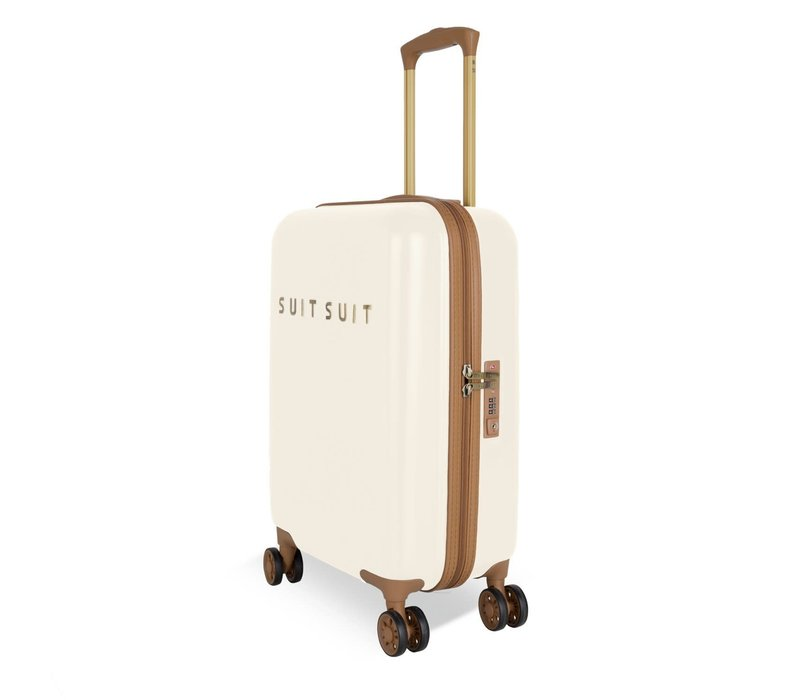 Handbagage koffer Fab seventies antique white
