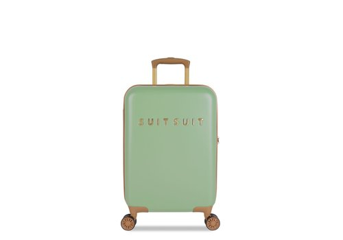 Suitsuit Handbagage koffer Fab seventies basil green
