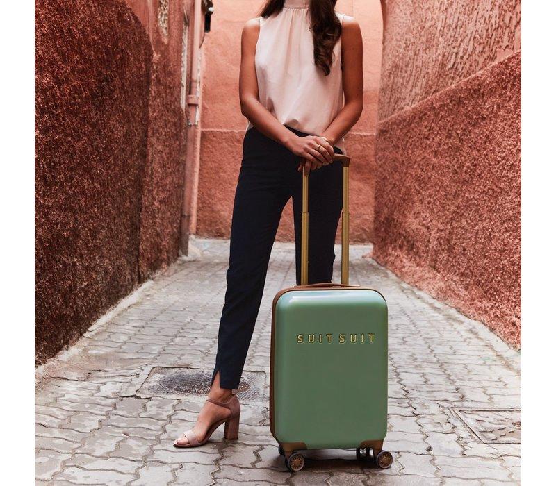 Handbagage koffer Fab seventies basil green