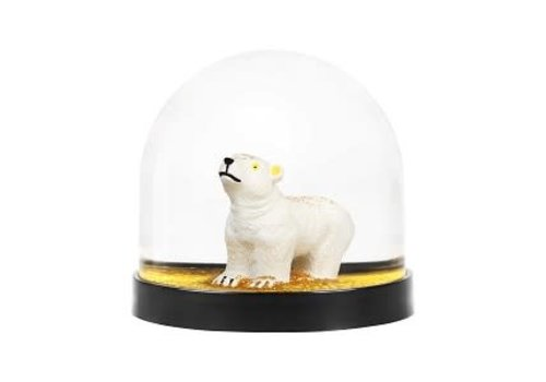 Klevering Klevering wonderball polar bear gold glitter