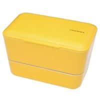 Takenaka Bento lunchbox dubbel geel