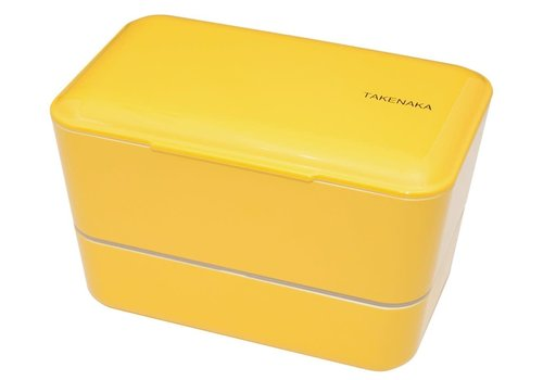 Takenaka Bento Takenaka Bento lunchbox dubbel geel