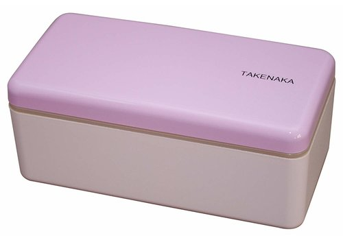 Takenaka Takenaka Bento lunchbox rectangle slim lavendel