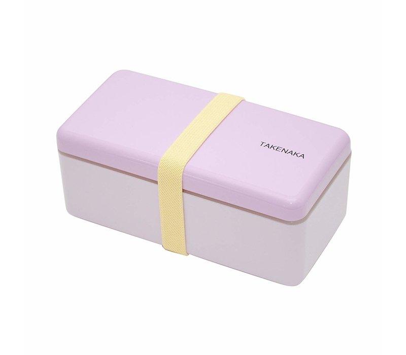 Takenaka Bento lunchbox rectangle slim lavendel