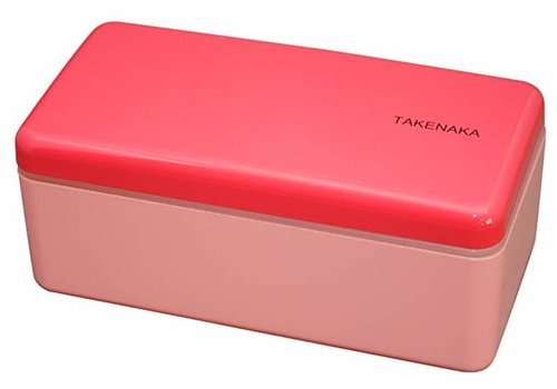 Takenaka Bento Takenaka Bento lunchbox rectangle slim rose