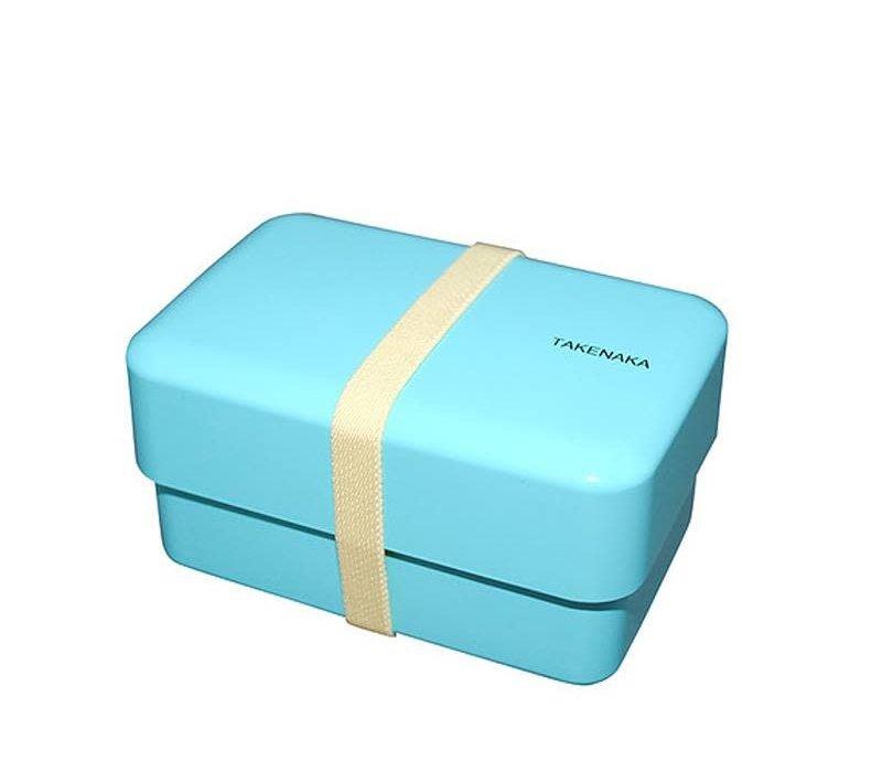 Takenaka Bento lunchbox rectangle lichtblauw