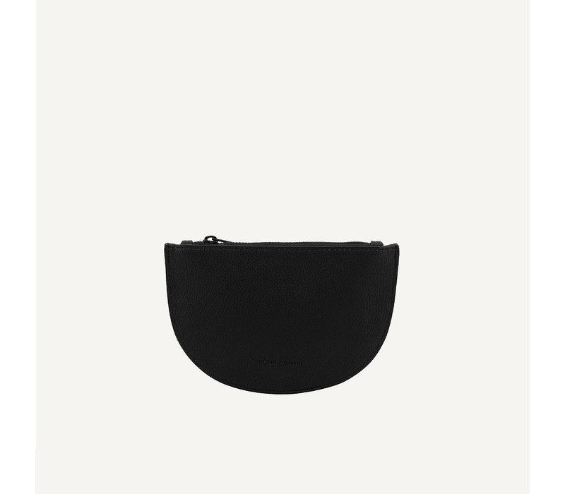 Monk & Anna Mondo moon wallet Black