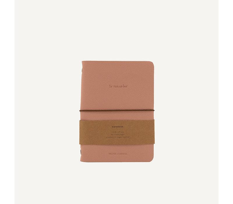 Monk & Anna Notebook vegan Leather Dawn