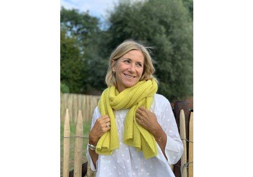 LesElles Knitwear LesElles Knitwear sjaal Jille lemon zest