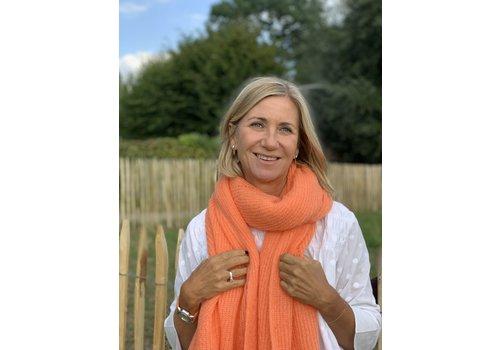LesElles Knitwear LesElles Knitwear sjaal Jille pamplemousse
