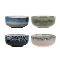 HK living Bowls keramiek set/4