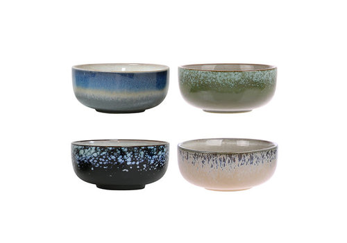 HK living HK living Bowls keramiek set/4