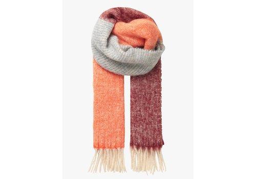 Becksöndergaard Becksöndergaard sjaal Ingrid dusty orange