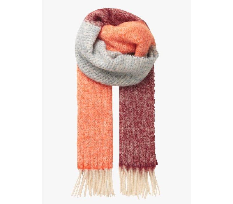 Becksöndergaard sjaal Ingrid dusty orange