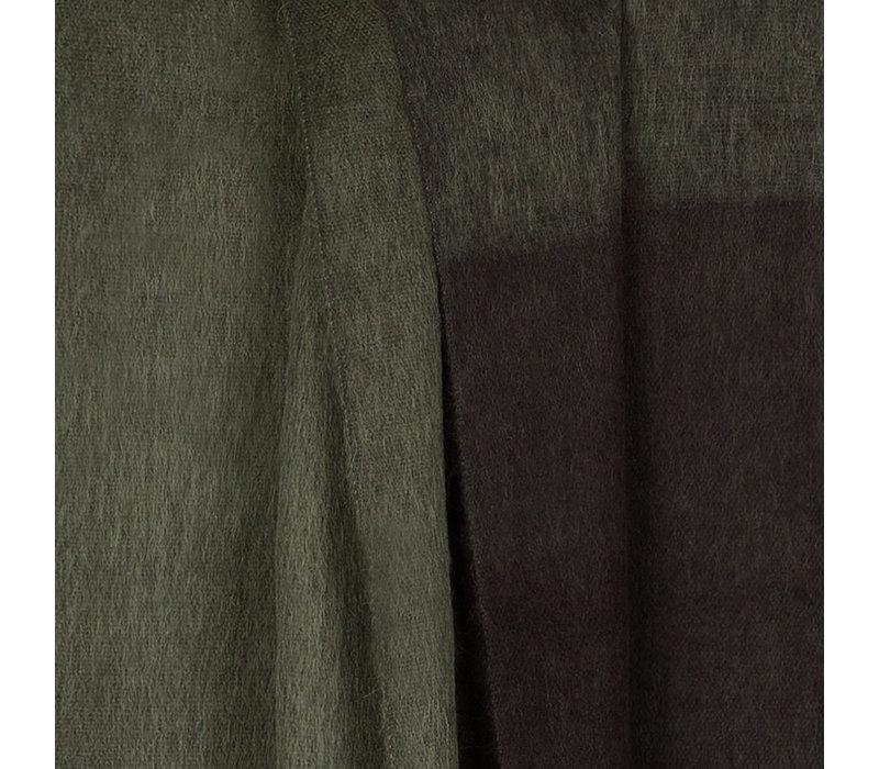 Bufandy Alpaca Sjaal Fabian Ombre Moody green