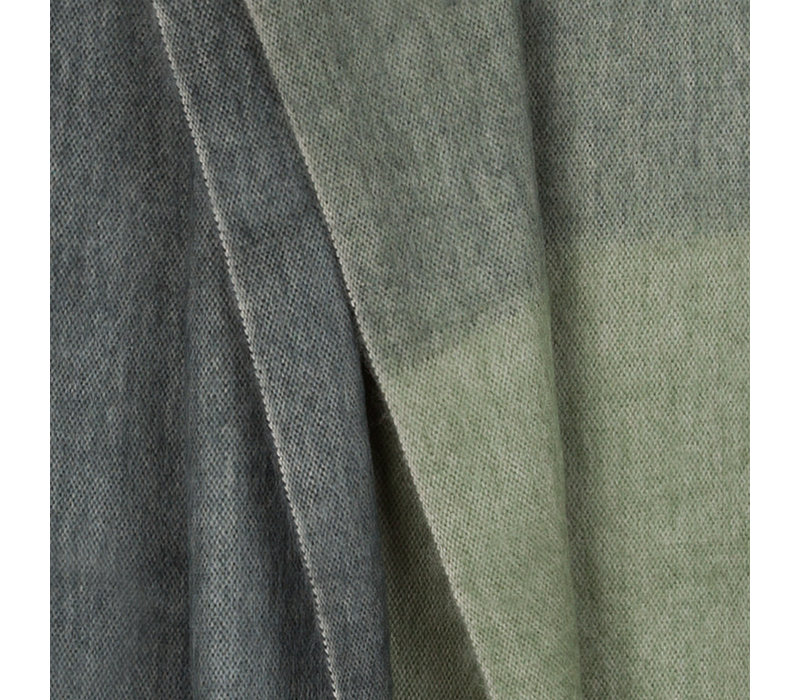 Copy of Bufandy Alpaca Sjaal Fabian Ombre Moody green
