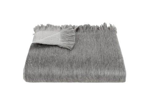 Bufandy Bufandy Alpaca Sjaal Fabian Doble Silver Fog