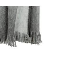 Bufandy Alpaca Sjaal Fabian Doble Silver Fog