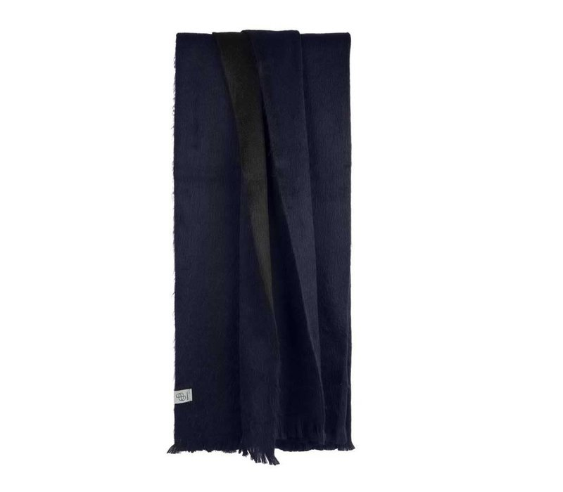 Copy of Bufandy Alpaca Sjaal Fabian Doble indigo blue